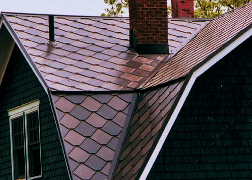 Google Image Result For Http Metroc Com Metal Roofing Products Castletop Metal Shingle Jpg Metal Shingle Roof Metal Shingles Shingling